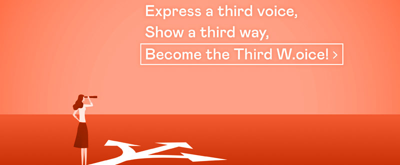 """Preview of the scenario """"The Third Way/Voice"""""""